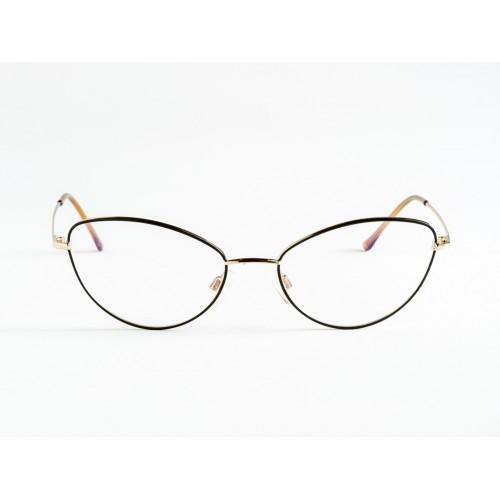 Germano Gambini Oprawa okularowa damska GG104 ORN - czarny, złoty