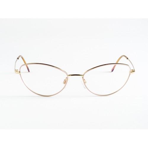 Germano Gambini Okulary korekcyjne damskie GG104 OCI - złoty, różowy