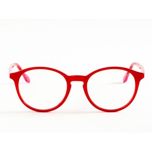 Germano Gambini Oprawa okularowa damska GG56 MRO - czerwony, transparentny