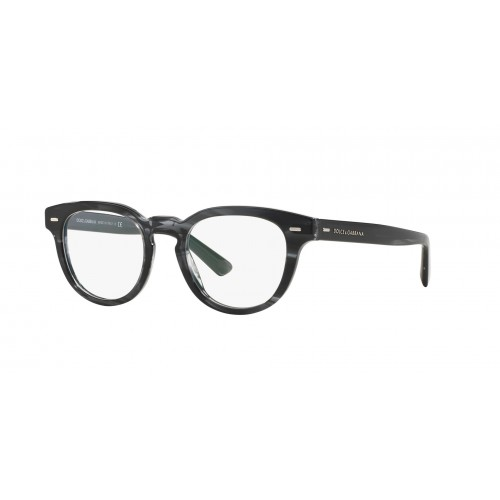 Dolce & Gabbana Okulary korekcyjne damskie DG3225 2924 - szary, transparentny