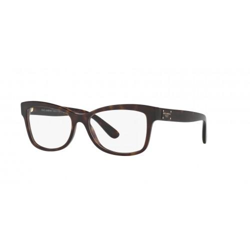 Dolce & Gabbana Okulary korekcyjne damskie DG3254 502 - czarny, brązowy