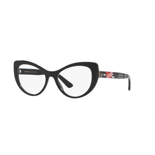 Dolce & Gabbana Okulary korekcyjne damskie DG3285 3180 - czarny