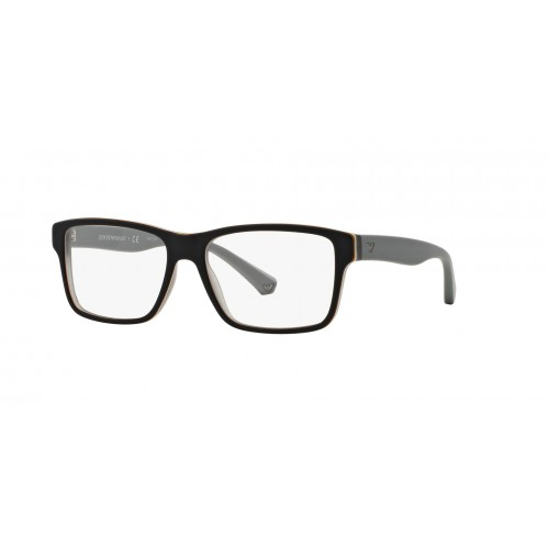 Emporio Armani Oprawa okularowa męska EA 3059 5390 - czarny