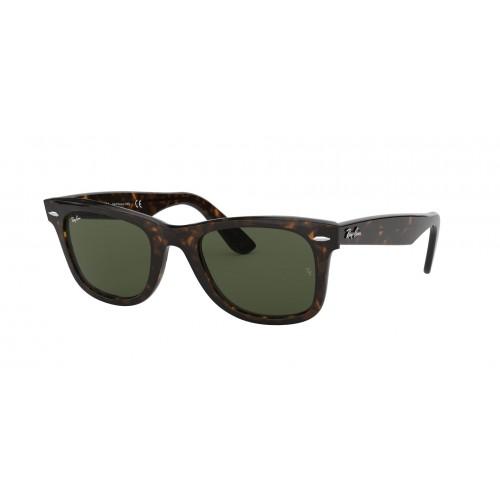 Ray Ban Okulary przeciwsłoneczne damskie RB 2140 902 - czarny, brązowy, filtr UV 400