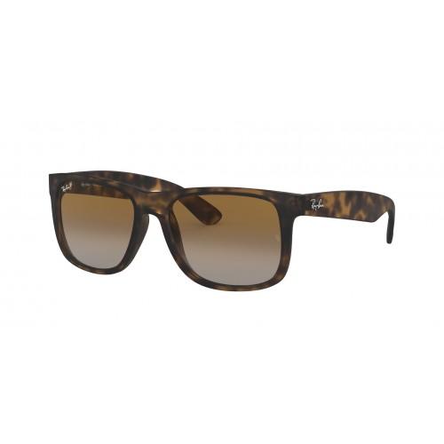 Ray Ban Okulary przeciwsłoneczne męskie RB 4165 865 - czarny, brązowy, filtr UV 400, polaryzacja