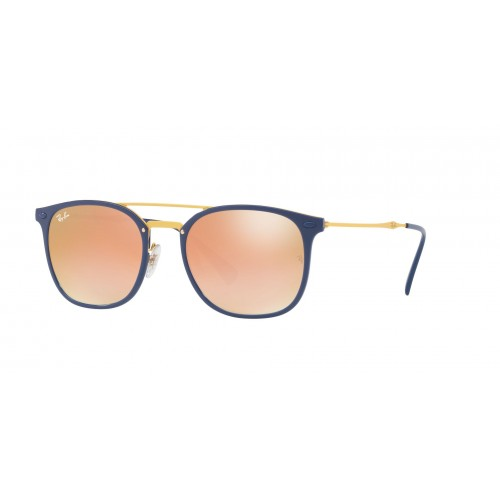 Ray Ban Okulary przeciwsłoneczne męskie RB 4286 872 - żółty, granatowy, filtr UV 400