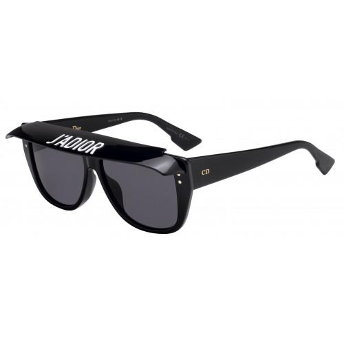 DIOR Okulary przeciwsłoneczne damskie Club 2 8070IR - czarny, filtr UV 400