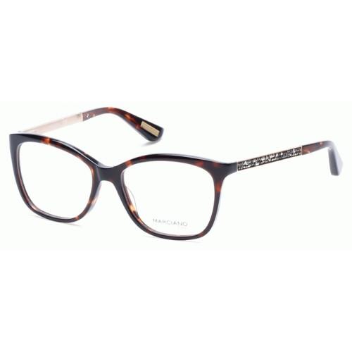 GUESS Okulary korekcyjne damskie by Marciano GM0281 052 - brązowy