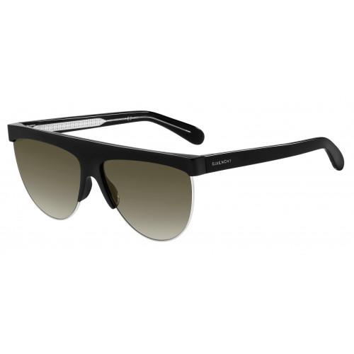 Givenchy Okulary przeciwsłoneczne damskie GV 7118/G/S 010HA - czarny, filtr UV 400
