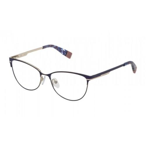 Furla Okulary korekcyjne damskie VFU127 01HR - niebieski