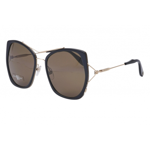 Givenchy Okulary przeciwsłoneczne damskie GV 7031/S ANWE4 - czarny, złoty, filtr UV 400