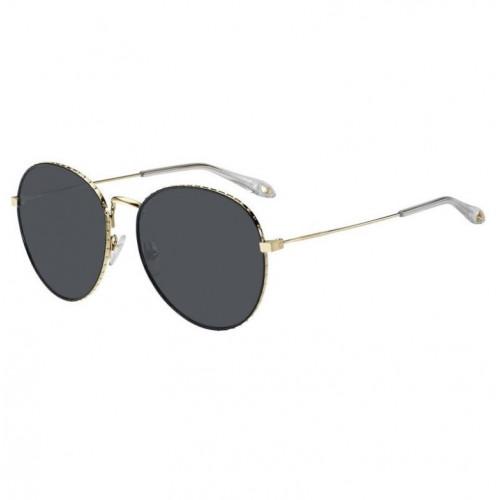 Givenchy Okulary przeciwsłoneczne damskie GV 7089/S J5GIR - złoty, filtr UV 400
