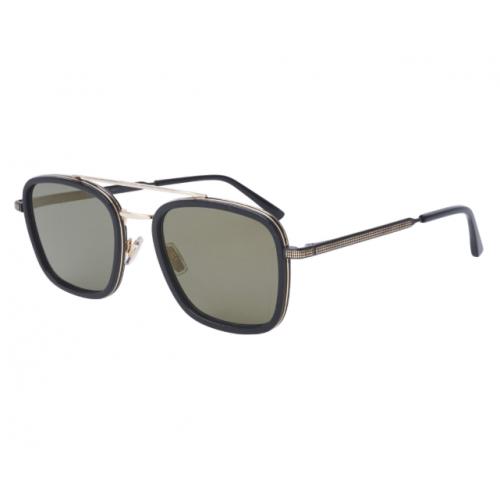 Jimmy Choo Okulary przeciwsłoneczne damskie JOHN/S 2M2K1 - czarny, złoty, filtr UV 400