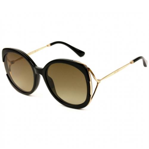 Jimmy Choo Okulary przeciwsłoneczne damskie LILA/S 2M2HA - złoty, filtr UV 400