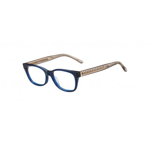 Jimmy Choo Okulary korekcyjne damskie JC193 1ZN - złoty, granatowy