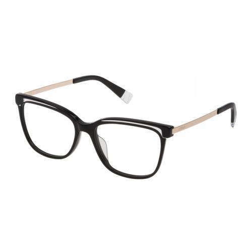 Furla Oprawa okularowa damska VFU193 0700 - czarny, złoty
