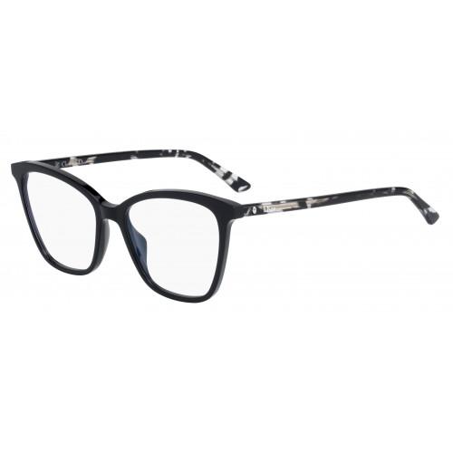 DIOR Oprawa okularowa damska Montaigne n 46 WR7 - czarny, transparentny, szylkret