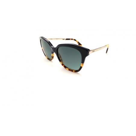 Fendi FF0089/S CUIHD. Materiał oprawy: metal. Kolor: czarny, złoty, szylkret. Okulary przeciwsłoneczne