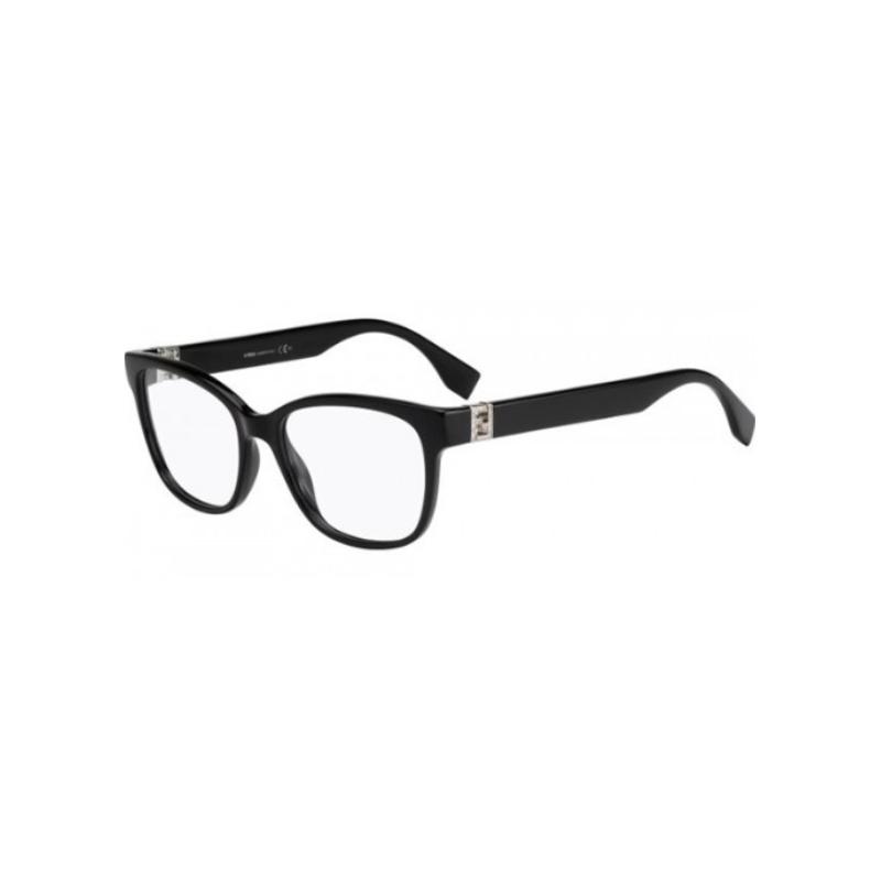 Fendi FF 0113 D28. Materiał oprawy: tworzywa sztuczne. Kolor: czarny. Okulary korekcyjne