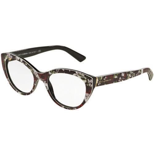 Dolce & Gabbana DG3246 3019. Materiał oprawy: tworzywa sztuczne. Kolor: wielokolorowy. Okulary korekcyjne