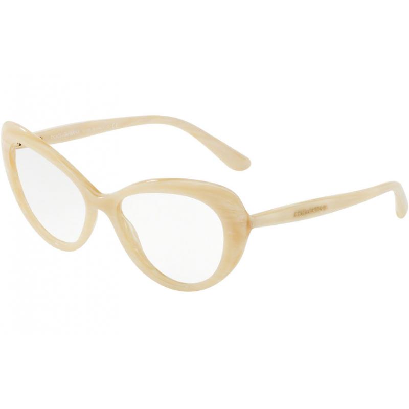 Dolce & Gabbana DG3264 3084. Materiał oprawy: tworzywa sztuczne. Kolor: transparentny. Okulary korekcyjne