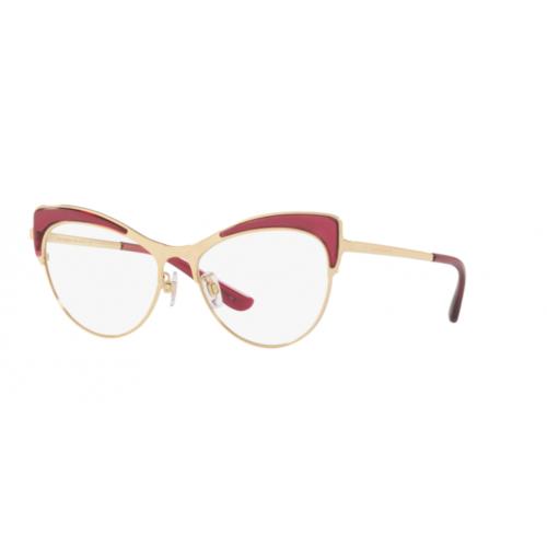 Dolce & Gabbana DG1308 1754. Materiał oprawy: metal. Kolor: złoty, czerwony. Okulary korekcyjne