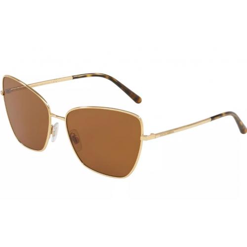 Dolce & Gabbana DG2208 02/73. Materiał oprawy: metal. Kolor: złoty. Okulary przeciwsłoneczne