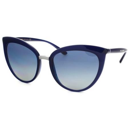 Dolce & Gabbana DG6113 3094/4L. Materiał oprawy: tworzywa sztuczne. Kolor: granatowy. Okulary przeciwsłoneczne