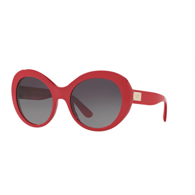 Dolce & Gabbana DG4295 3097/8G. Materiał oprawy: tworzywa sztuczne. Kolor: czerwony. Okulary przeciwsłoneczne