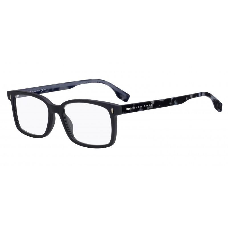 Hugo Boss BOSS 0971 FRE. Materiał oprawy: acetat. Kolor: czarny, granatowy. Okulary korekcyjne