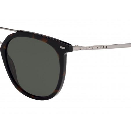 Hugo BOSS 1013/S 086QT. Materiał oprawy: acetat. Kolor: szary, szylkret. okulary przeciwsłoneczne