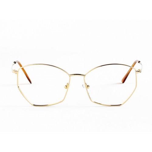 Germano Gambini GG123 / ORO GOLD. Materiał oprawy: metal. Kolor: złoty. Okulary korekcyjne