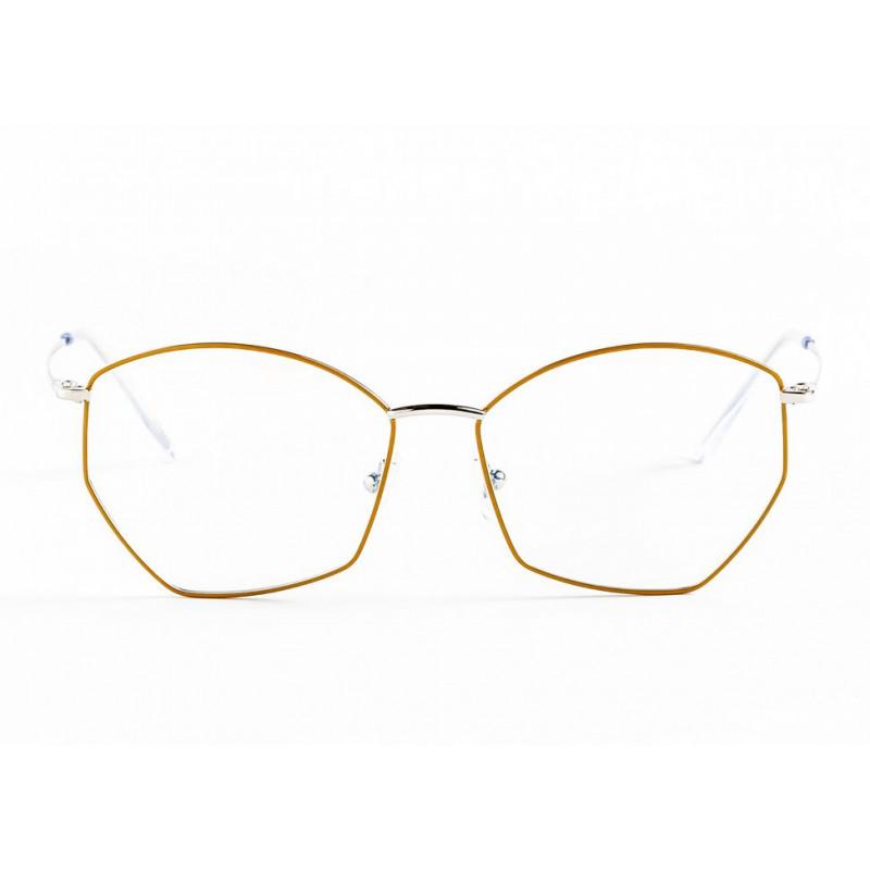 Germano Gambini GG123 / PA3 MANGO PALLADIUM. Materiał oprawy: metal. Kolor: złoty. Okulary korekcyjne