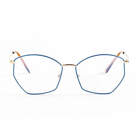 Germano Gambini GG123 / OB5 PRINCESS BLUE GOLD. Materiał oprawy: metal. Kolor: niebieski. Okulary korekcyjne