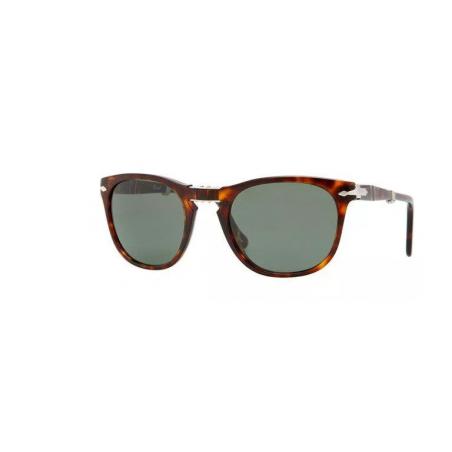 Persol 3028-S 24/31. Materiał oprawy: tworzywa sztuczne. Kolor: brązowy. Okulary przeciwsłoneczne
