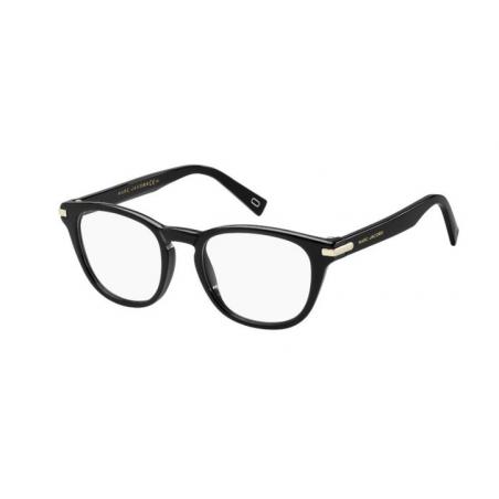 Marc Jacobs MARC 189 807. Materiał oprawy: acetat. Kolor: czarny. Okulary korekcyjne