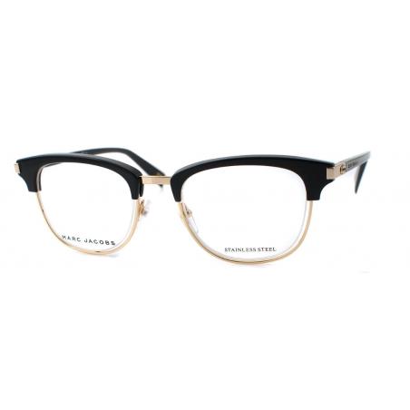Marc Jacobs MARC 176 2M2. Materiał oprawy: metal. Kolor: czarny, złoty. Okulary korekcyjne