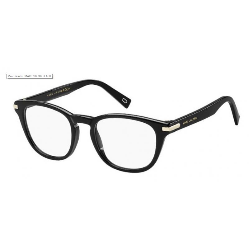 Marc Jacobs MARC 189 9WZ. Materiał oprawy: acetat. Kolor: czarny. Okulary korekcyjne