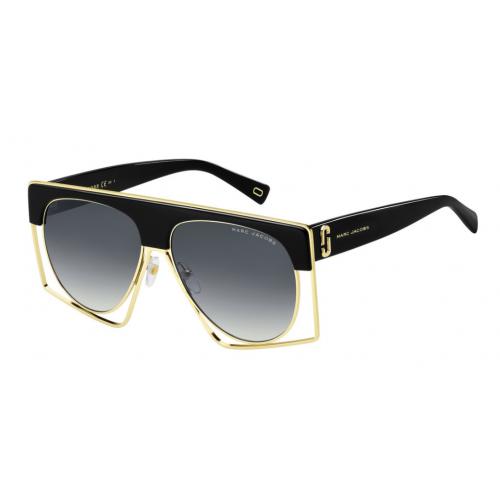 Marc Jacobs MARC 312/S 80790. Materiał oprawy: acetat. Kolor: czarny, złoty. Okulary przeciwsłoneczne