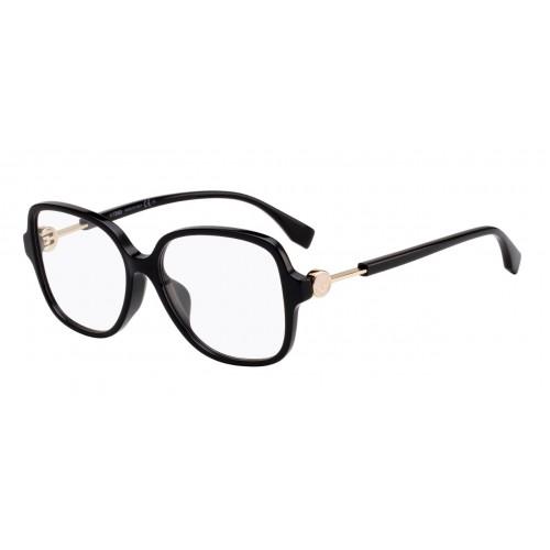 Fendi Oprawa okularowa damska FF0364/F 807 - czarny