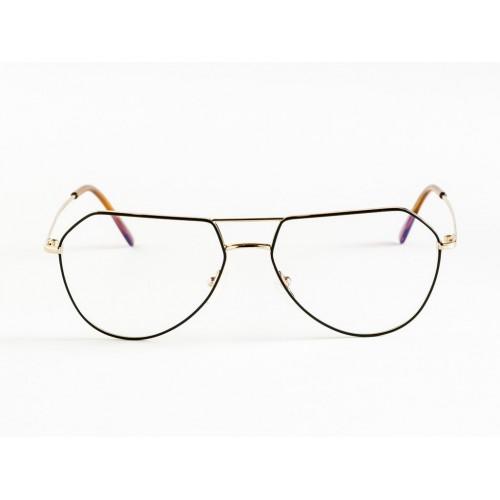 Germano Gambini Oprawa okularowa damska GG109 ONM - czarny, złoty
