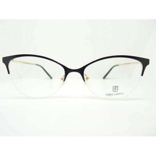 Fabio Lacetti Oprawa okularowa damska 93067RW col.01 - czarny