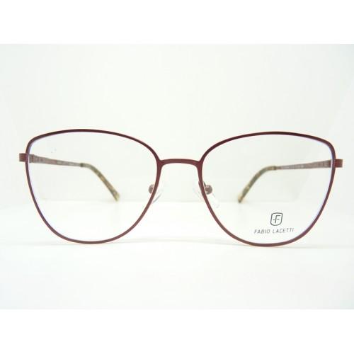 Fabio Lacetti Oprawa okularowa damska 93068AB col.03 - czerwony