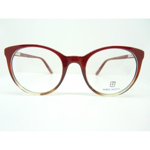 Fabio Lacetti Oprawa okularowa damska 95058CD col.03 - czerwony