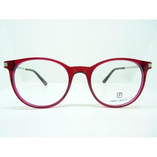 Fabio Lacetti Oprawa okularowa damska 95065RW col.02 - czerwony