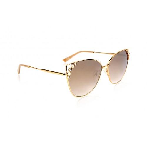 Ana Hickmann Okulary przeciwsłoneczne damskie AH3200 04A - złoty, filtr UV 400