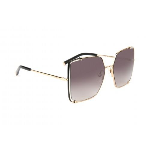 Ana Hickmann Okulary przeciwsłoneczne damskie AH3211 09A - złoty, filtr UV 400