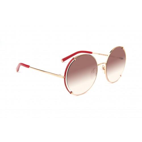 Ana Hickmann Okulary przeciwsłoneczne damskie AH3212 07A - złoty, filtr UV 400