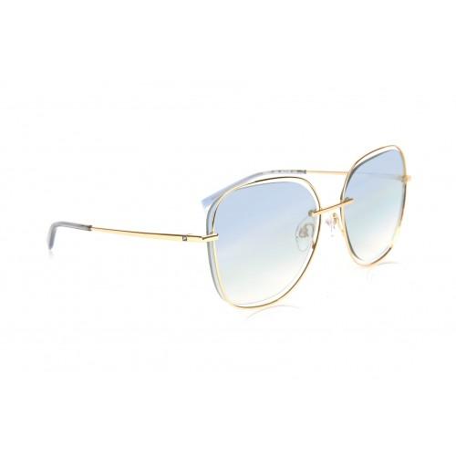 Ana Hickmann Okulary przeciwsłoneczne damskie HI3077 04E - złoty, filtr UV 400