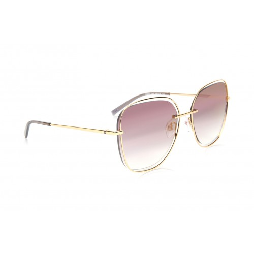 Ana Hickmann Okulary przeciwsłoneczne damskie HI3077 04F - złoty, filtr UV 400